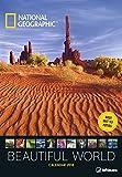 National Geographic Beautiful World 2018 Wandkalender