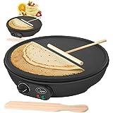 Pancake Crepe Maker Electric 12 1000 Watt no Stick Large Pancake Maker máquina by ...