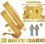 Inedit Festa - Bandas Honoríficas 50 Bodas de Oro y Guirnalda 50 Aniversario
