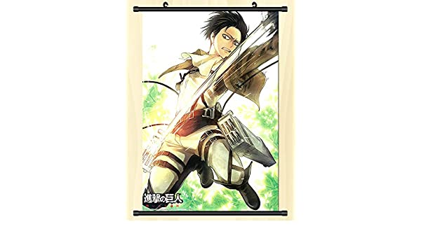 Attack on Titan Poster Wall Scroll Home Bedroom Decoration for Anime Fans Gift