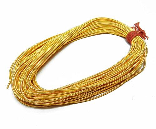Lingotes metálicos Wire Rough Purl Golds decorativo