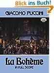 Puccini La Boheme Full Score Book (Do...