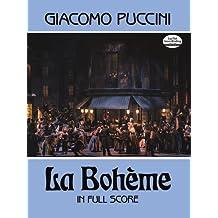 La Boheme (Dover Full Score): Partitur (Dover Vocal Scores)