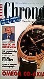Chronos. Magazin für Uhren. Klassik, Innovation, Technik. Heft 1, Januar / Februar 2000.