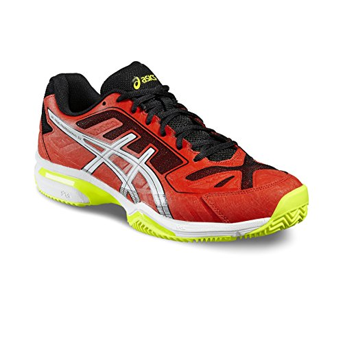 Asics - Gel Padel Professional 2 Sg, Scarpe da ginnastica Uomo Blu (Azul (Methyl Blue / Hot Orange / Indigo Blue))