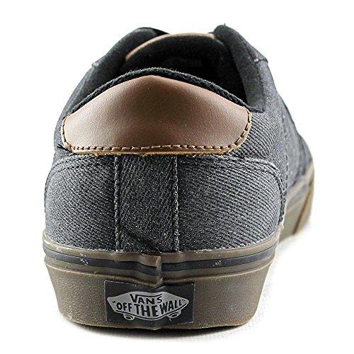 Vans Authentic + Cuir Baskets (Utilitarian) Bk-BlncDBlnc