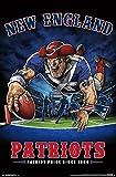 New England Patriots - End Zone Poster Drucken (55,88 x 86,36 cm)