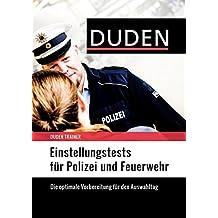 Duden Trainer - Einstellungstests für Polizei und Feuerwehr
