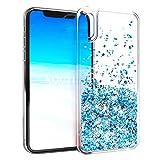 KOUYI Coque iPhone XR, Luxe Flottant Liquide Étui Protecteur TPU Cover Brillant...