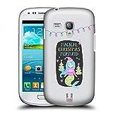 Head Case Designs Meerjungfrau Magische Weihnachten Ruckseite Hülle für Samsung Galaxy S3 III Mini