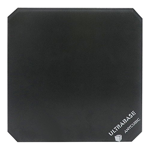 Anycubic Ultrabase plataforma de impresoras 3d con plato de crista 214x214mm compatible para la cama caliente de la Prusa I3 MK2 MK3.