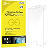 iPhone 6s Screen Protector, JETech 2-Pack [3D Touch Compatible] Premium Tempered Glass Screen Protector Film for Apple iPhone 6 and iPhone 6s Newest Model 4.7