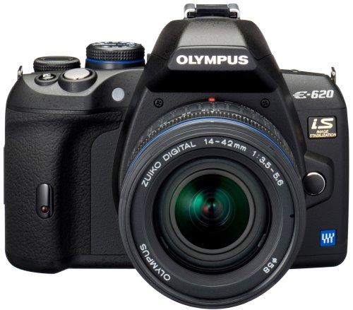 Olympus E-620 SLR-Digitalkamera (12,3 Megapixel, Bildstabilisator, Live View, Art Filter) Kit inkl. 14-42mm & 40-150mm Objektive (Digitale Slr-kameras Von Olympus)