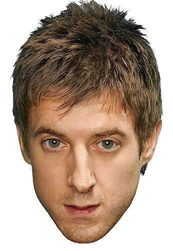 (Star Cutouts Bedruckte Gesichtsmaske von Rory Doctor Who)