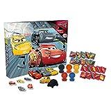 Cars DSC8-6358 3 Puzzle Radiergummi Adventskalender, Mutli Colour, One Size