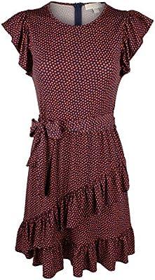 Michael Kors Women's Flutter Wrap Skirt Dress