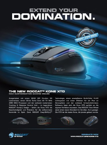 Roccat Kone XTD Max Customization Gaming Maus schwarz - 7