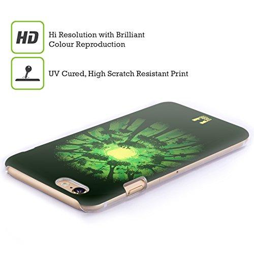 Head Case Designs Lupo Guanti Incantati Cover Retro Rigida per Apple iPhone 7 Plus / 8 Plus Lucciola