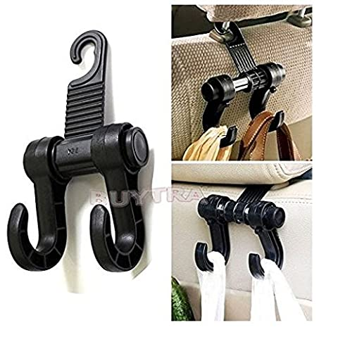 Zjskin HIGH QUALITY Universal Car Truck Suv Seat Back Hanger Organizer Hook Headrest Holder