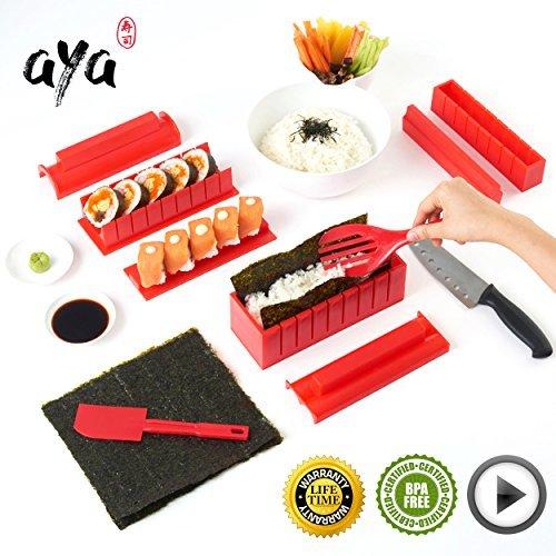 Sushi Maker - Coffret Complet pour Préparation Sushi et Maki - Aya