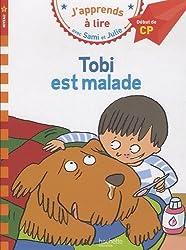 J'apprends à lire avec Sami et Julie Tobi est malade Niveau 1