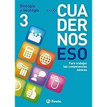 Cuadernos ESO Biología y Geología 3 (Castellano - Material Complementario - Cuadernos Eso) de Berta Gallego Ballesteros (25 jun 2012) Tapa blanda