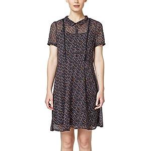 edc by Esprit 078cc1e002 Vestido, Negro (Black 001), 42 (Talla del Fabricante: 40) para Mujer