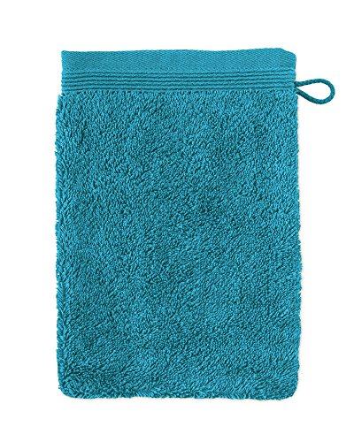möve Superwuschel Waschhandschuh 15 x 20 cm aus 100% Baumwolle, lagoon