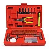 OFNMY Kit de réparation de Pneu de 91 pièces Kit de réparation de Pneu...