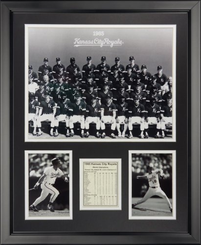 Legenden Sterben Nie 1985Kansas City Royals-gerahmtes Foto Collage, Stolperfallen 40,6x 50,8cm von Legends Never Die