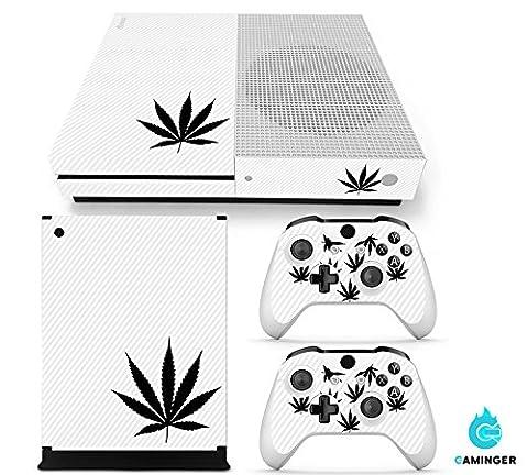 Xbox ONE S Designfolie für Konsole + 2 Controller +