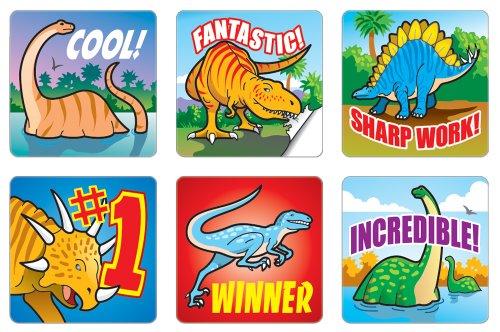 Dinosaurs Motivational Stickers