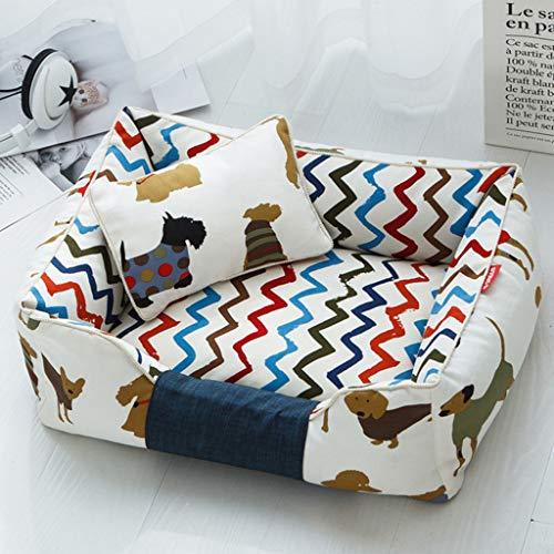 Alfombrillas cama desmontables perros Fayella - Almohadillas