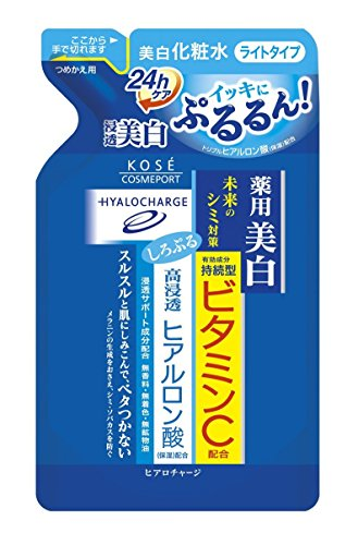 Kose Cosmeport Hiaro Charge White Lotion - L 180ml - Light - Refill