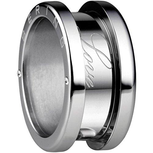 Bering Damen-Ring Edelstahl Zirkonia weiß Gr. 50 (15.9)-520-10-54