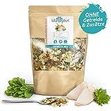 Ida Plus - Barf-Gemüse-Mix für den Hund - 1000 g - Erbse, Karotte, Pastinake, Kürbis, Sellerieknolle, Gurke, Lauch, Spinat, Paprika - Getreidefrei ohne Farbstoffe + Konservierungsstoffe - 100 % Gemüse