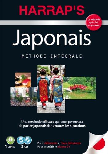 Harrap's méthode intégrale japonais - 2 CD+ livre