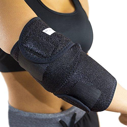 PhysioRoom Ellenbogenbandage St�tzbandage - Neopren Ellenbogen-St�TZE mit Coolmax Technologie - Optimale Kompression im Sport & Alltag - Schmerzlindernd bei Arthritis, Br�chen & Verstauchungen