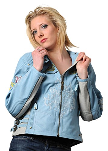 EHLSTW2 CSLZ Ed Hardy-Love Kills Slowly Women'S Jacket, Size S, Blue, Number 1