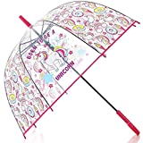 Einhorn - Regenschirm - Klar