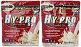 All stars Hy-Pro 85 Beutel 2er Mix Pack (2 x 500 g) Vanille/Banane, 1er Pack (1 x 1 kg)