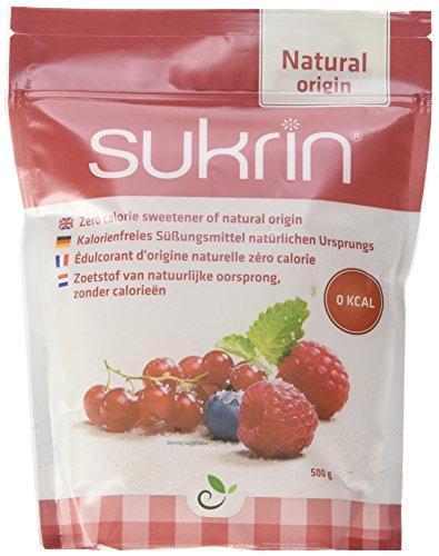 Sukrin Pur Zuckerersatz Erythritol, die natürliche Alternative zu Zucker ohne Kalorien, 1er Pack (1 x 500 g) - Die Zucker