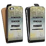 DeinDesign Apple iPhone 5c Étui Étui à Rabat Étui magnétique Some People Need