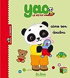 Yao le petit panda aime son doudou