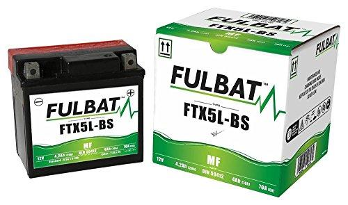 Kymco Agility 50 R10 4T Basic, Agility 50 R12 4T, MMC,One, FTX5L-BS wartungsfreie AGM, MF Fulbat Batterie