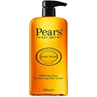 Pears Pure & Gentle Shower Gel, Body Wash with Glycerine and Natural Oils, 100% Soap-Free and Dermatologically Tested…