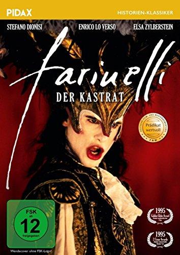 Farinelli, der Kastrat / Preisgekrönter Spielfilm über den Megastar des Barock (Pidax Historien-Klassiker) (Musik Künstler Kostüm)