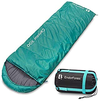 Endor Forest Sleeping Bag for Adults and Kids - Made With Ripstop Polyester, Single Envelope 3 Season Sleeping Bag for Camping - Lightweight, Compact, Warm and Water Resistant (Plus 2 x FREE eBooks) 11