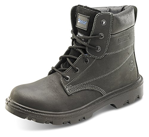 Click Sherpa Safety Boot Black - Size 10