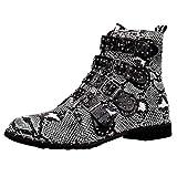 Winterschuhe Damen Stiefel Xinantime Damenstiefel Kurze High Heels Stiefeletten Martin Stiefel Schuhe Casual Boots Mode Freizeit Einzelne Schuhe 35-43